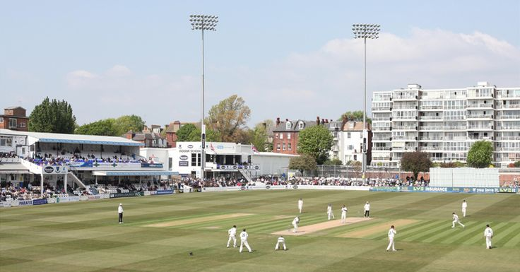 Sussex County Cricket Ground, Hove, England.