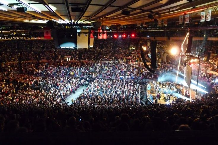 To Concerts at the Madison Square Garden I understand
