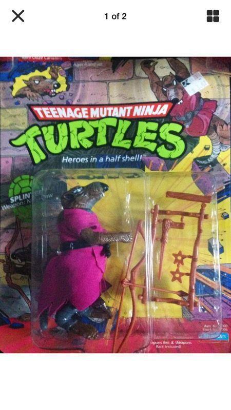 1988 TEENAGE MUTANT NINJA TURTLE - SPLINTER - BRAND NEW ( Collectibles ) in Redondo Beach, CA - OfferUp