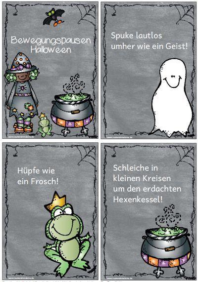 Bewegungspausen: Halloween