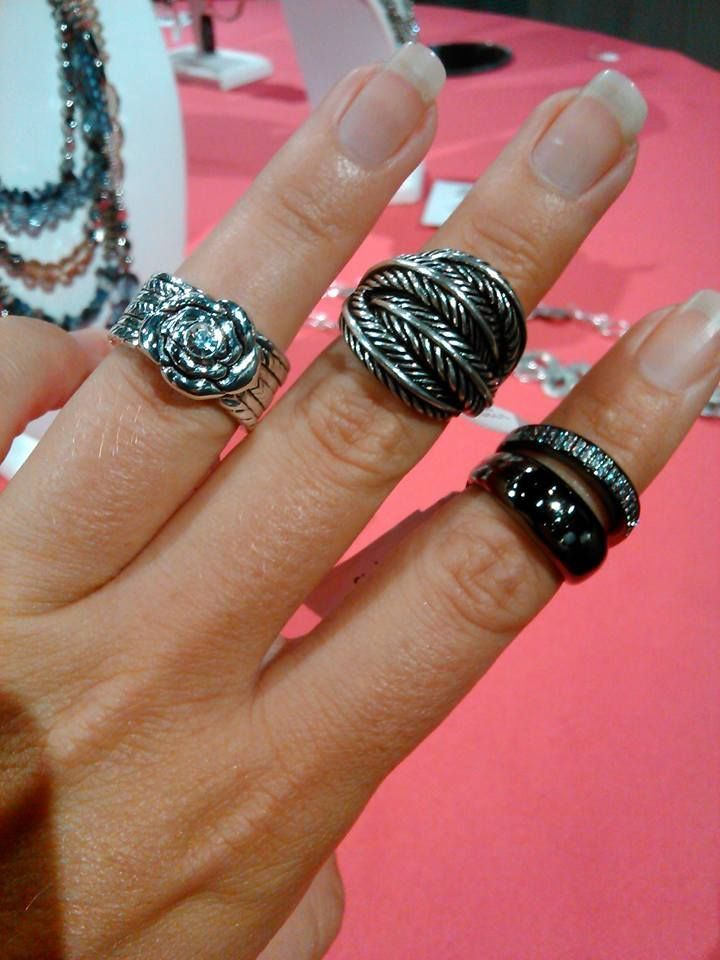 Penelope, Quinn and Celebration......new rings from Premier Designs!