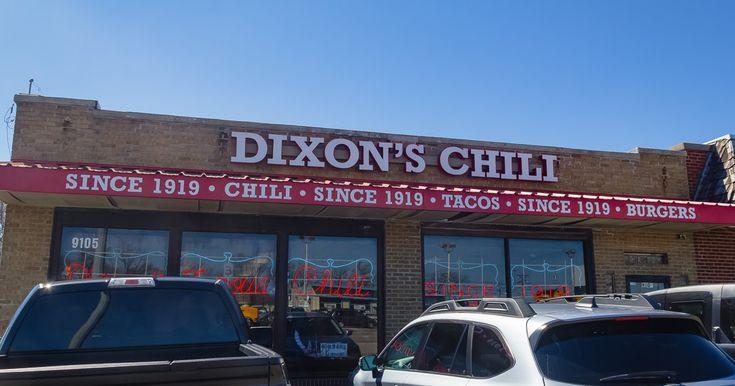 Dixons famous chili at dixons chili parlor kansas city