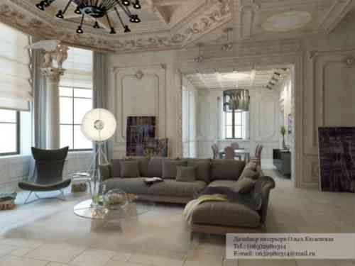 aménagement de maison canapé d'angle tout confort table basse