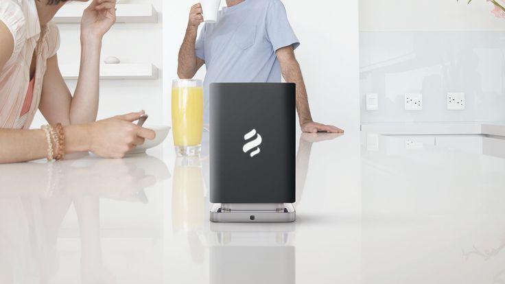 ELICA, Marie Marie, the smart fragrance diffuser, è un innovativo oggetto di design che neutralizza gli odori in cucina e profuma in modo naturale l'aria in casa. #profumatore #fragrance #cialde #design #homedesign