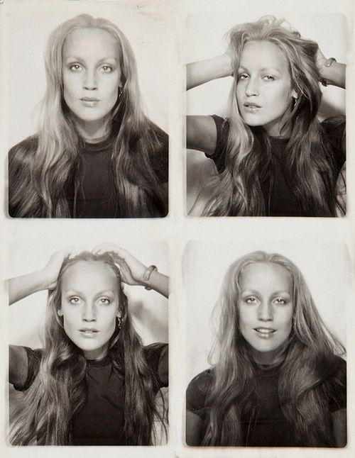 Jerry Hall. I love how individual she looks... she doesn't shy away from what makes her unique. That confidence is inspiring.