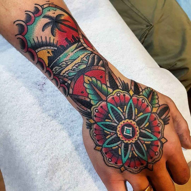 Hand-Neo-Traditional-Tattoo-by-eddieczaicki-728x728.jpg 728×728 pixels