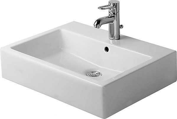Vero Ceramic Rectangular Vessel Bathroom Sink with Overflow in 2018