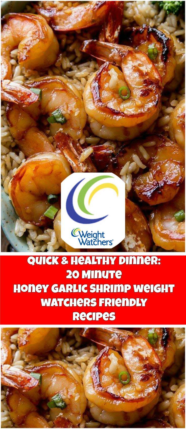 Quick+&+Healthy+Dinner:+20+Minute+Honey+Garlic+Shrimp