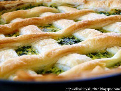 Italian Recipes...  Torta salata ricotta e spinaci