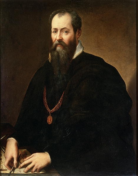 Giorgio Vasari - Self Portrait. Giorgio Vasari (1511 – 1574) was an Italian painter, architect, writer and historian.