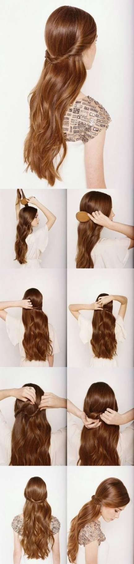 Super Frisuren Lose Mittel 46 Ideen
