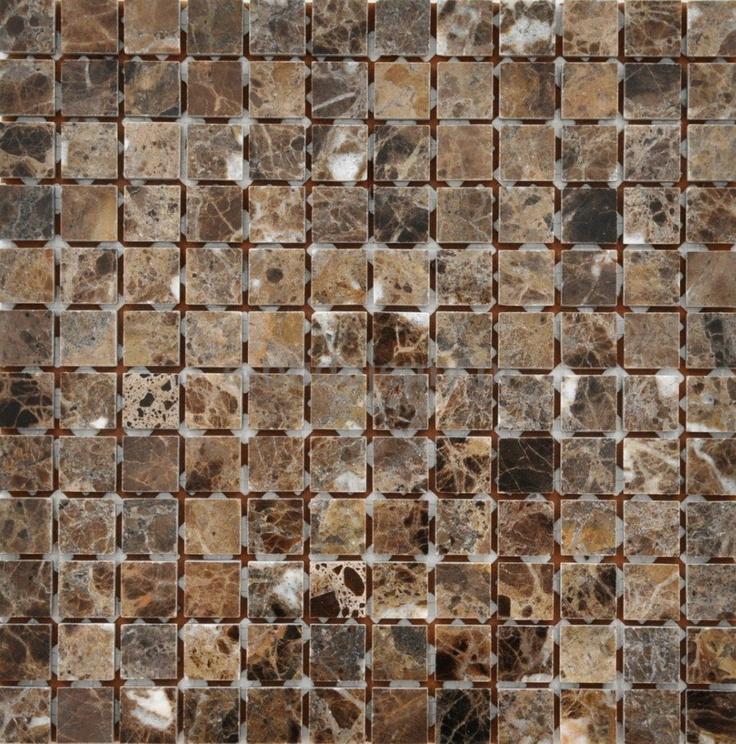 Ceramica picasa mosaic emperador imperial br zowo czarny for Bathroom design 3x2