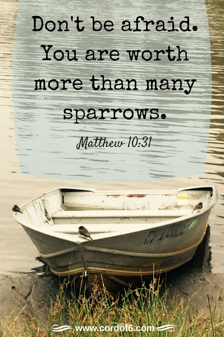 Sometimes it may seem that God has abandoned you. But He promises never to leave or forsake you. You are valuable to God!