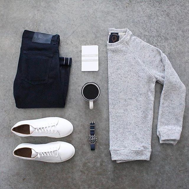 """222 Likes, 10 Comments - CAPSULE WARDROBE (@capsulewardrobemen) on Instagram: """"It's almost impossible to go wrong with these basics. . . . If you are struggling to build a…"""""""