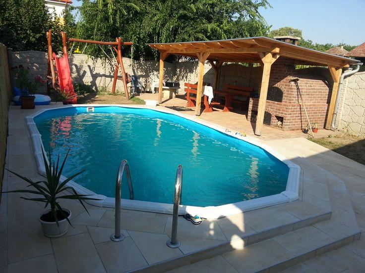 M s de 25 ideas incre bles sobre piscinas gre en pinterest for Piscinas desmontables enterradas