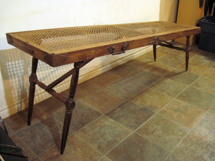 Antique Portable EMBALMING AUTOPSY Cooling Morgue TABLE