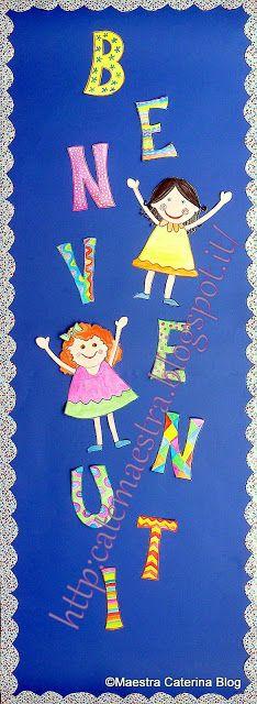 Primo giorno di scuola...   Simpatiche maestre accolgono   i bambini!!!                                           Personaggi copiati da ...