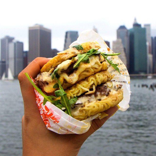 Ramen Burger — LivingRamen Burger, 899 Bergen Street (between Classon and Franklin avenues), Brooklyn; 718-857-2335.