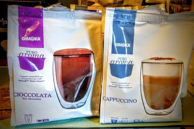 Da Caffè Caruso, a Catania, Gimoka vi presenta le capsule compatibili Dolce gusto Nescafè al cioccolato e cappuccino. Le trovi presso il nostro punto vendita nelle pratiche confezioni da 16 a soli 4,50€. Scarica Gratis il Coupon e Spendilo quando Vuoi