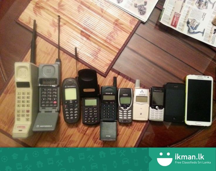 Evolution of mobile phones. Does anyone still own a flip phone?
