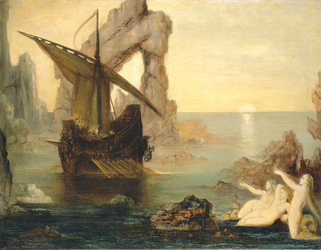 Gustave Moreau - Les sirènes ( ✏✏✏✏✏✏✏✏✏✏✏✏✏✏✏✏ IDEE CADEAU / CUTE GIFT IDEA  ☞ http://gabyfeeriefr.tumblr.com/archive ✏✏✏✏✏✏✏✏✏✏✏✏✏✏✏✏