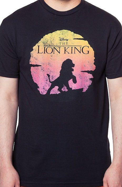 Lion King Silhouette T-Shirt