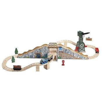 17 best images about thomas friends wooden railway sets. Black Bedroom Furniture Sets. Home Design Ideas