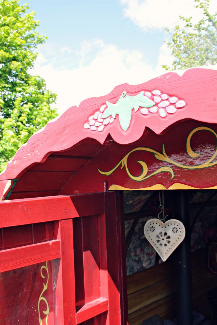 Gypsy caravan holiday in 'The Lakes' - a magical family break