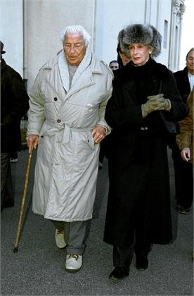 Marella and Giovanni Agnelli