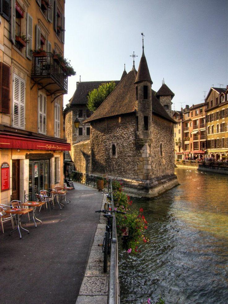 Annecy, Haute-Savoie, France.