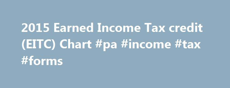 2015 Earned Income Tax credit (EITC) Chart #pa #income #tax #forms http://incom.remmont.com/2015-earned-income-tax-credit-eitc-chart-pa-income-tax-forms/  #irs earned income credit table # By John D on November 23, 2014 A range of economic research since the 1990s has found that the EITC for families with children has increased work, especially among single mothers. Together with the EITC expansion, these proposals will help reorient the tax code to reward work for low-wage Continue Reading