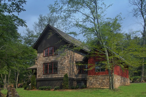 109 Best Rustic Modern Exteriors Images On Pinterest Backyard Ideas Exterior Homes And Play Areas