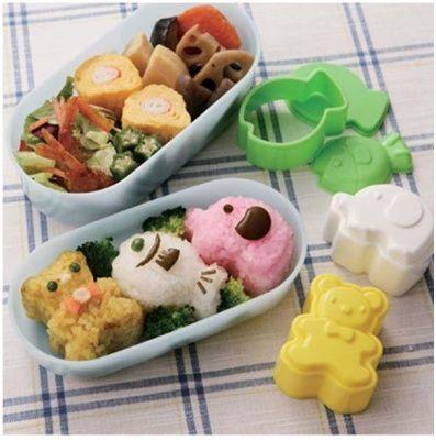 Menjual cetakan alat bento surabaya Nama Produk  Rice Mold - ORI Tor Three Animals Phone/SMS/WA 0852-3179-7181 PIN 59417AD0 official website www.forbento.com
