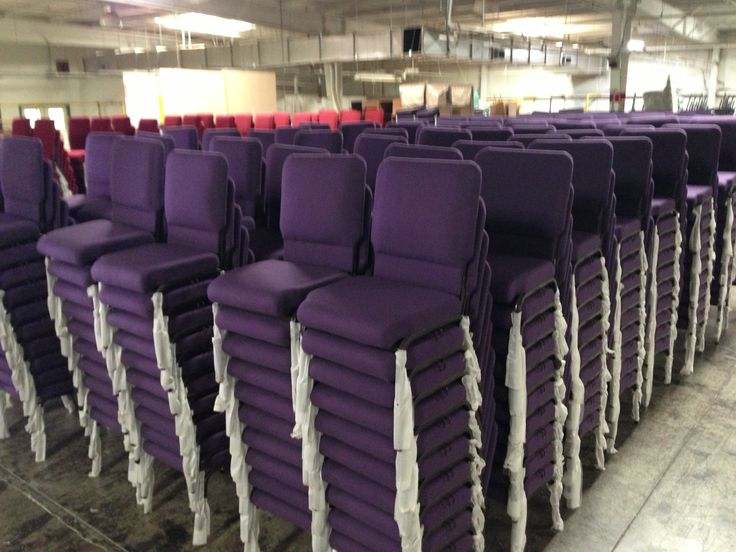 Our Royal Purple Worship Chair Offered At ChurchMart.com. Here We Have A Few
