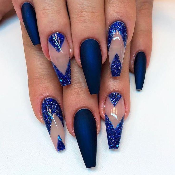 Navy Blue Nail Ideas You May Not Have Tried (With images ...