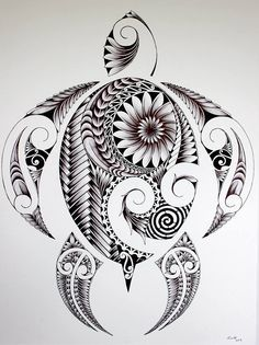 Zentangle turtle: want to draw this!!!