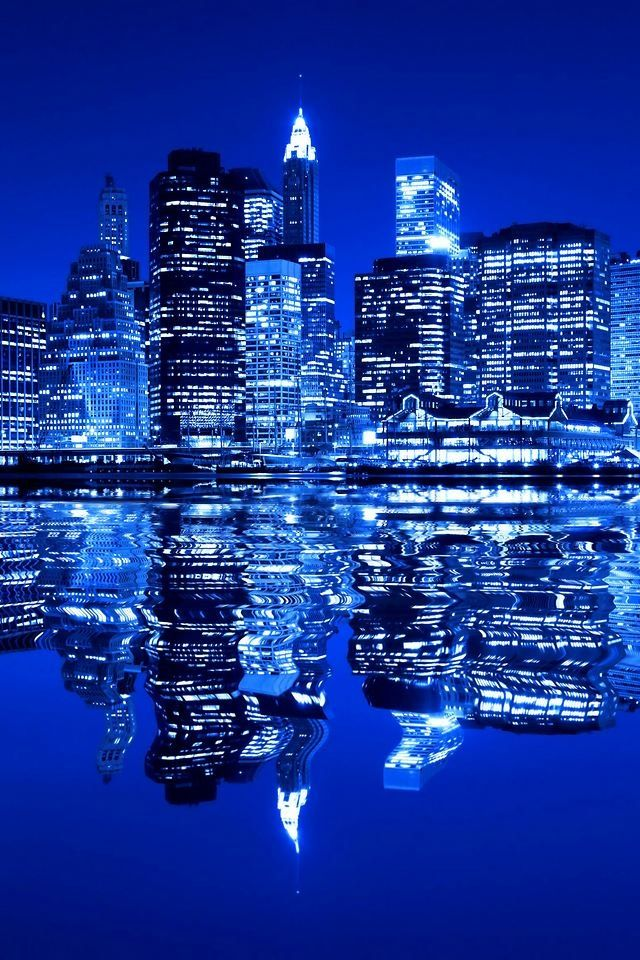 City of Blue, New York City                                                                                                                                                                                 More