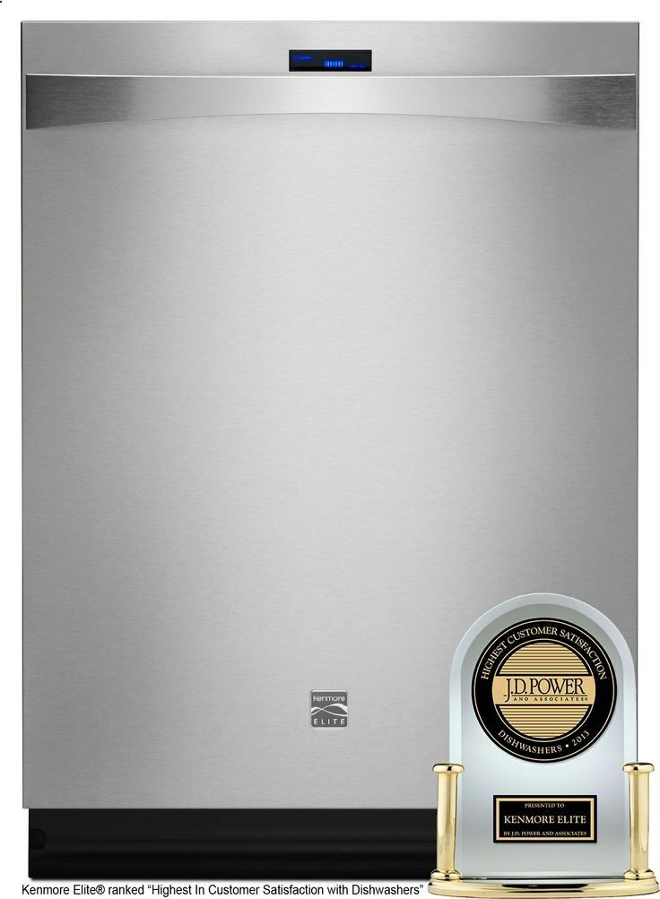 Kenmore Elite Dishwasher - Built In 24 in. #12783 - Stainless Steel $1420 Sears - quietest dishwasher