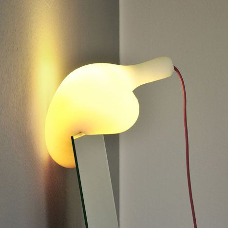 Simon Frambachu0027s Balloon Shaped Soft Lamp Gives Off A Soft Light And Slight  Warmth,