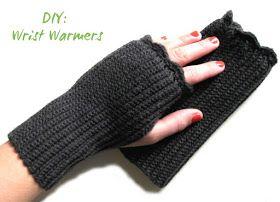 Memento Vivere: DIY: Hæklede håndledsvarmere /// Crochet Wrist Warmers