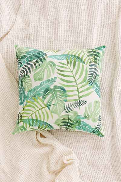 Assembly Home Printed Palms Pillow - Urban Outfitters