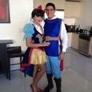 Prince Charming 100% Homemade Costume and Snow White (Purchased Online) - 0