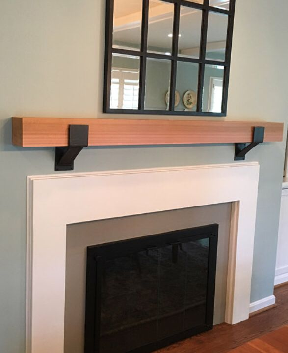 Fireplace Mantel Support Sold Individually Mantel Decor Etsy Rustic Mantel Fireplace Mantels Farmhouse Mantel