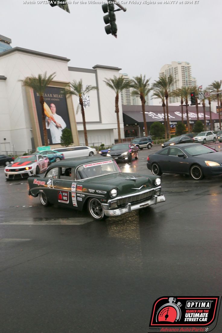 1956 bel air for sale submited images - James Crosby Driving A 1956 Chevrolet Bel Air On The Las Vegas Strip During Driveoptima