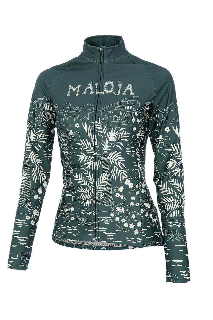 Maloja 2014 MarrakeshM Women's Bike Jacket, Azur, Women's Cycling Jacket | f riders inc