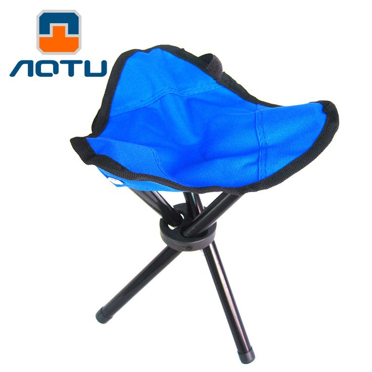 AOTU Three Legged Fishing Stool Outdoor Portable Folding Fishing Stool Picnic Chair Folding Camping Chair 497  #Affiliate