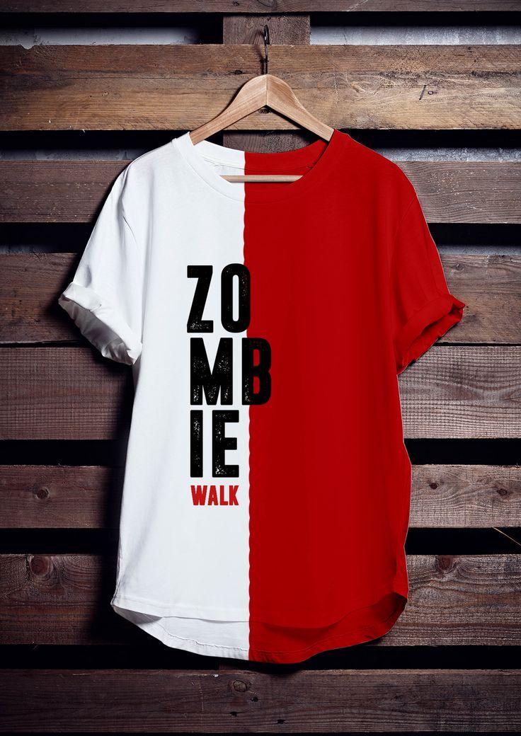 Cape Town Zombie Walk 2016 Tshirt concept