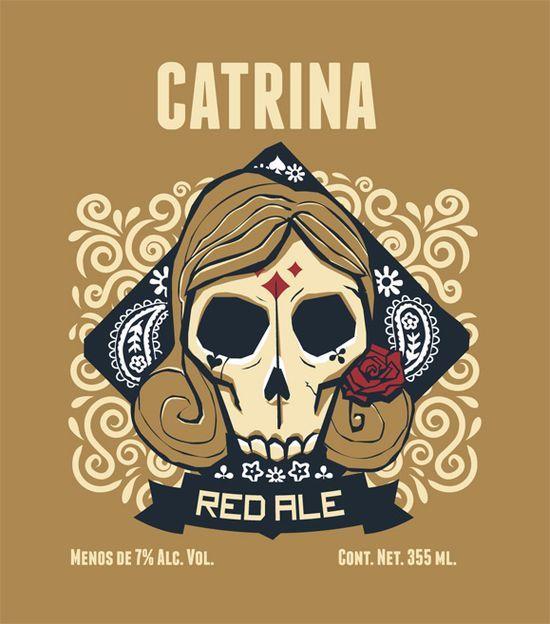A very cool beer label design.   www.zumula.com