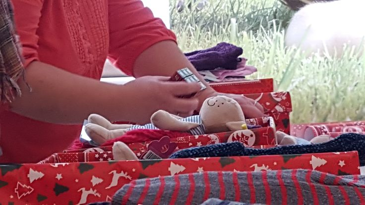 Geschenke einsortieren