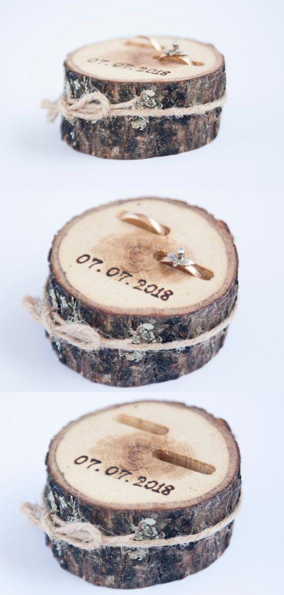 Etsy Eye Candy: 35 + superbe boîte à bagues de mariage Ideen ,  #bagues #boite...